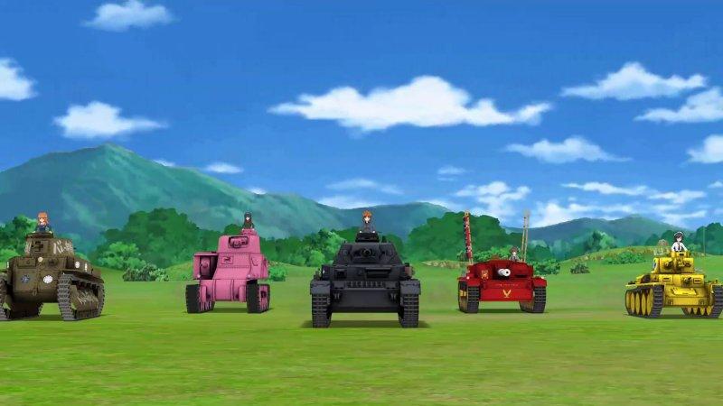 少女与战车 集结!大家的战车道!!截图第1张