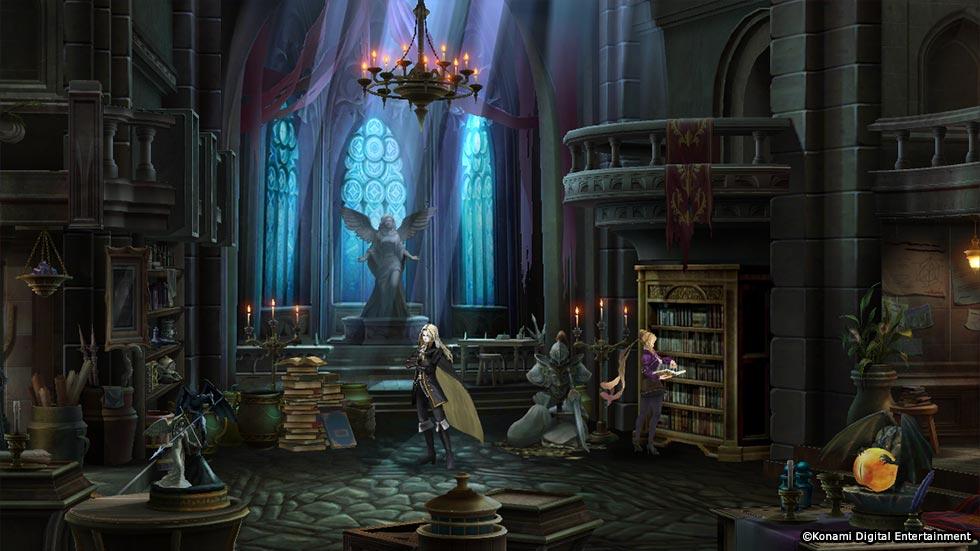 恶魔城 Grimoire of Souls