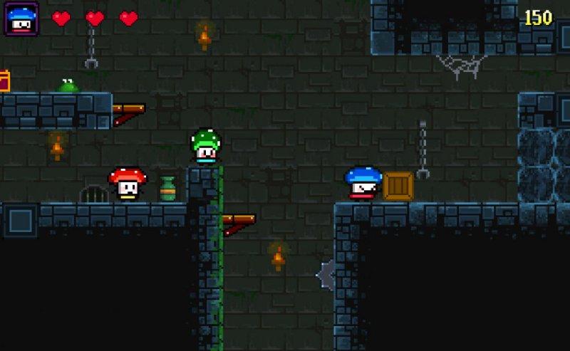 蘑菇英雄截图第1张