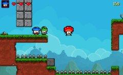 蘑菇英雄截图