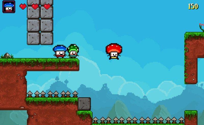 蘑菇英雄截图第5张