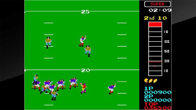 Arcade Archives 10-Yard Fight截图第4张
