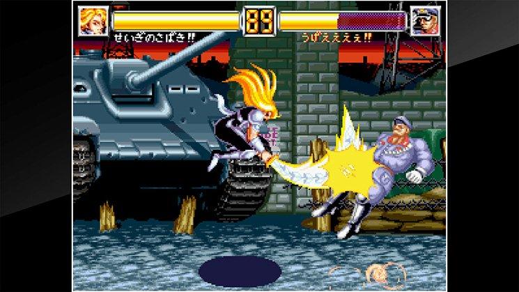ACA NeoGeo World Heroes 2 JET截图第1张