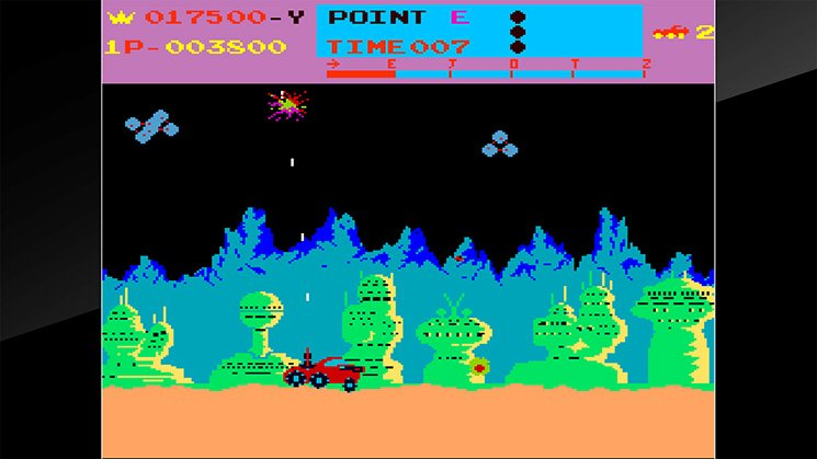 Arcade Archives Moon Patrol截图第6张