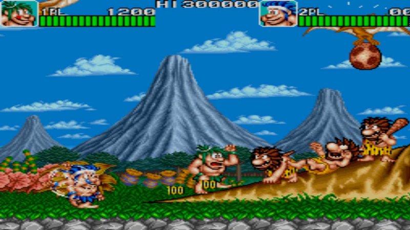 Johnny Turbo's Arcade Joe and Mac Caveman Ninja截图第4张
