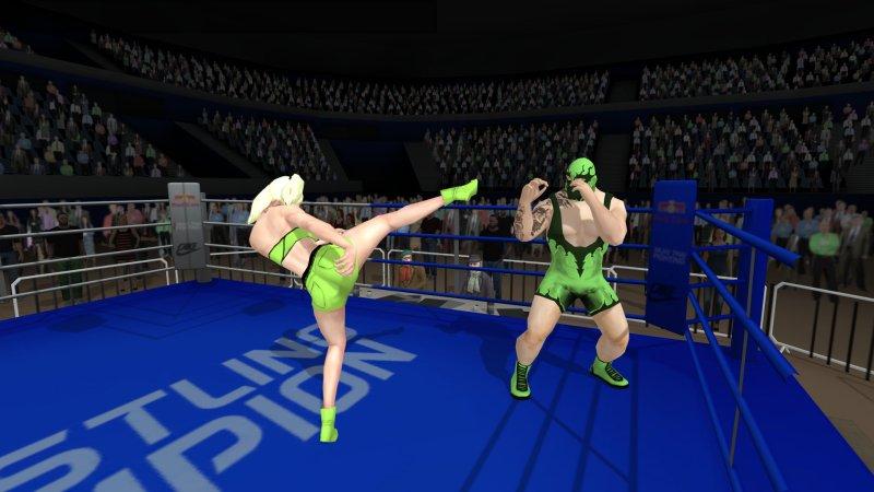 无规则摔跤截图第1张