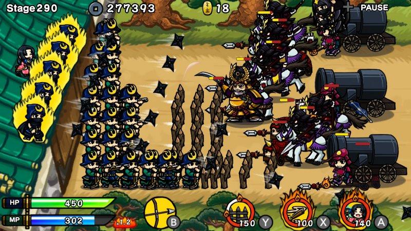 武士防御战:忍者战争截图第3张