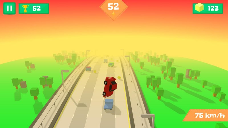 Pixel Traffic: Highway Racing截图第6张