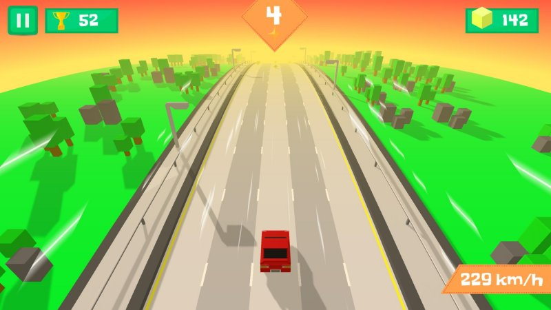 Pixel Traffic: Highway Racing截图第1张