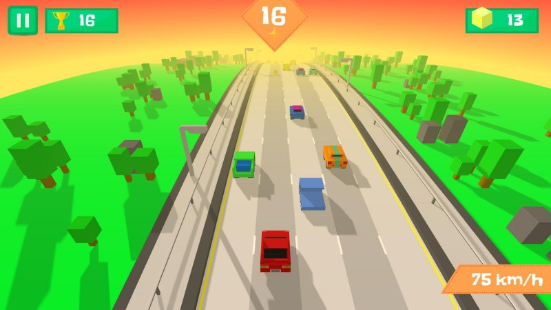 Pixel Traffic: Highway Racing截图第3张