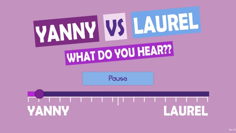 What do you hear?? Yanny vs Laurel截图第3张