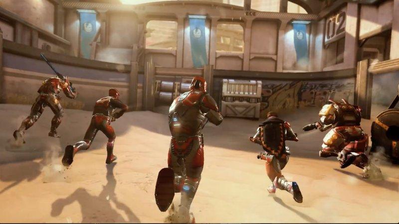 暗影之枪:战争游戏截图第3张