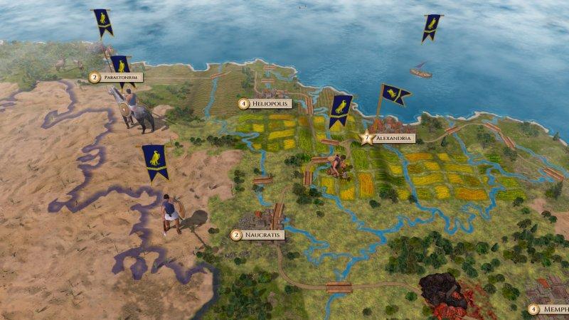 Aggressors: Ancient Rome截图第2张
