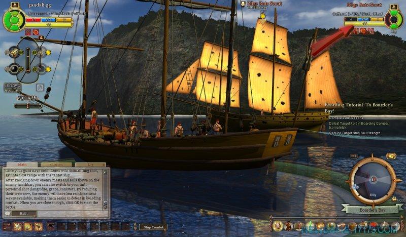 燃烧海洋上的海盗截图第3张