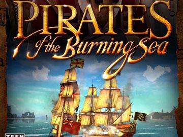 燃烧海洋上的海盗