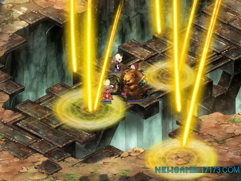 圣剑OL游戏截图第5张