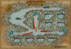 军团战争-关卡地图