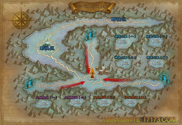 军团战争-关卡地图第1张
