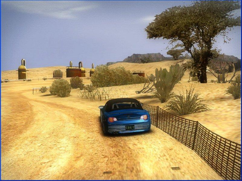 疯狂飚车游戏截图第2张
