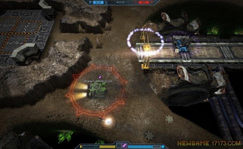 未来坦克战游戏截图第1张