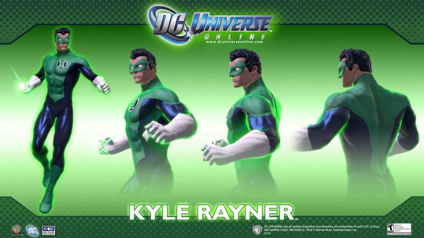 DC漫画英雄OL-人物设定图第3张