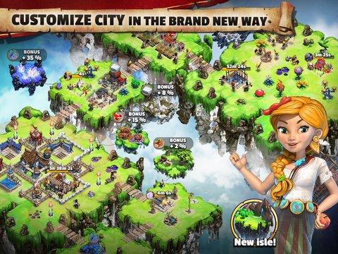 天空之城:联盟战游戏截图第1张