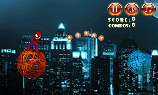 蜘蛛侠跳线
