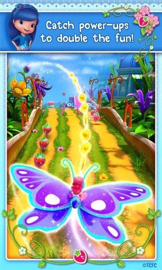 草莓女孩跑酷游戏截图第4张