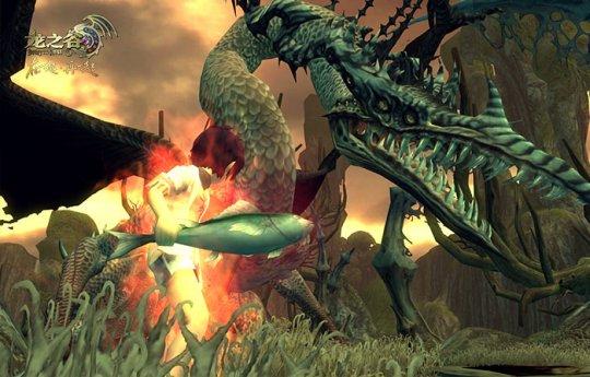 《龙之谷》深海海龙来袭 阿尔特里亚由你守护